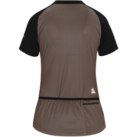 Zimtstern Spin Bike Jersey Shortsleeve Women brown